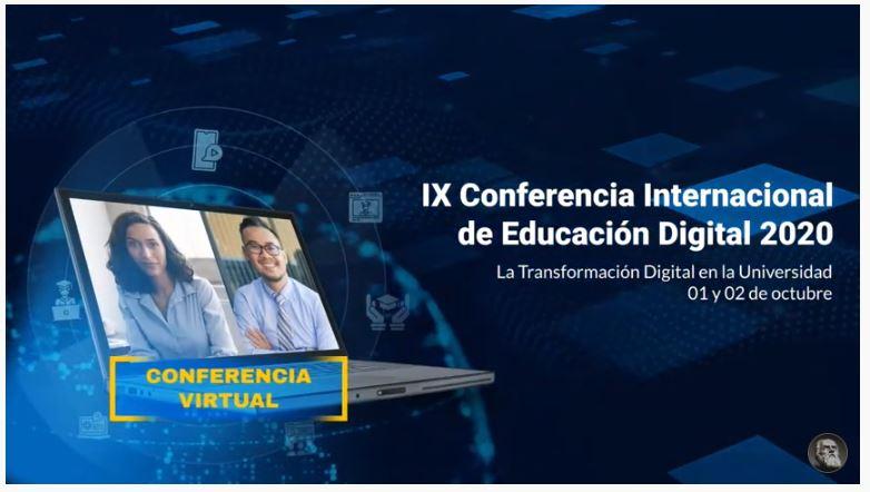 «IX Conferencia Internacional de Educación Digital 2020.»