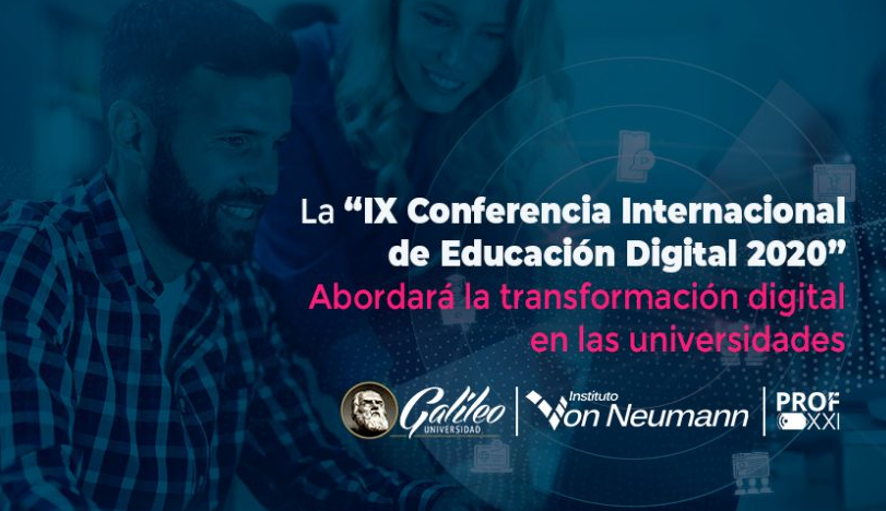 """Socios de PROFXXI participan en la """"IX Conferencia Internacional de Educación Digital 2020"""""""