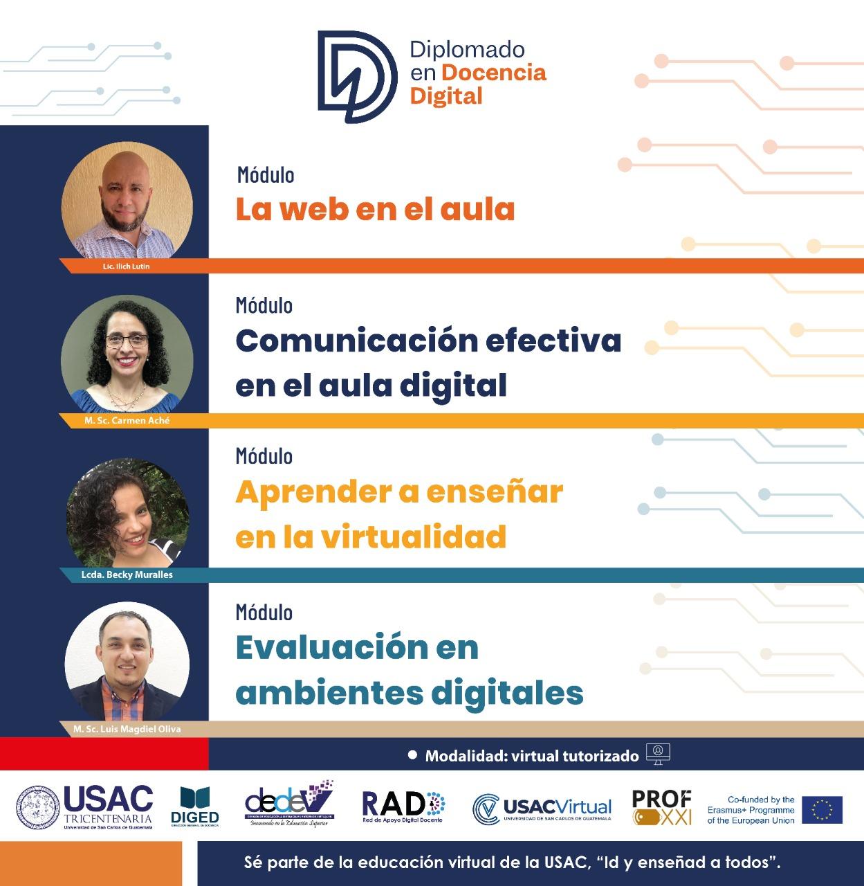 La DEDEV lanza el Diplomado en Docencia Digital.