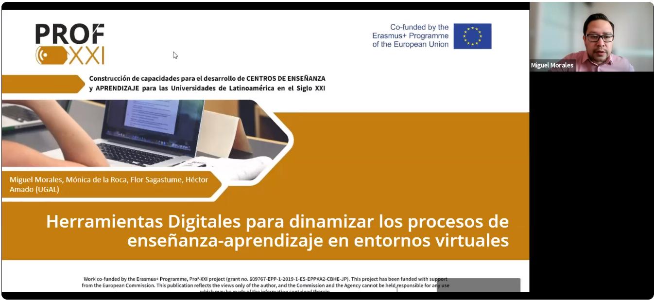Taller «Herramientas digitales para dinamizar los procesos de enseñanza-aprendizaje»